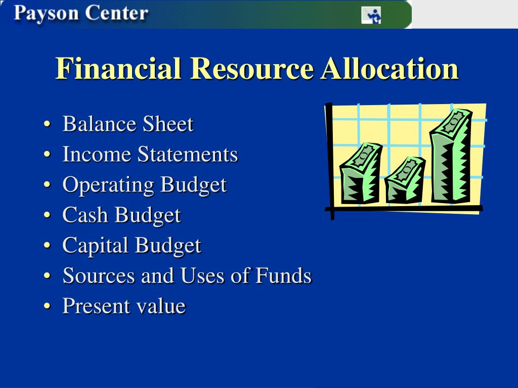 Financial Resource Allocation