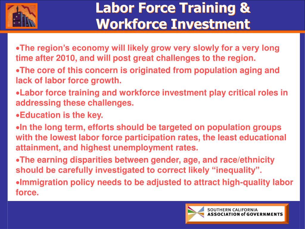 Labor Force Training &