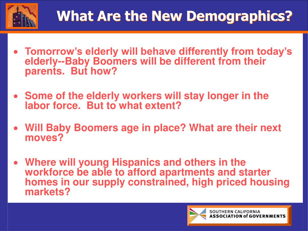 What Are the New Demographics?