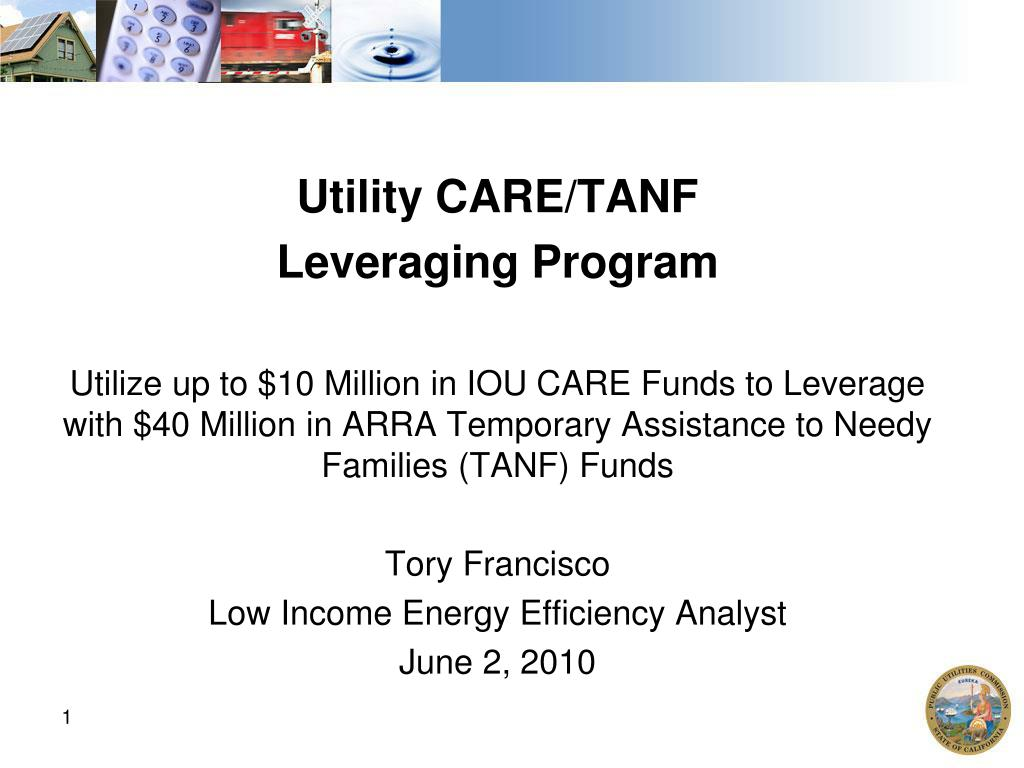 Utility CARE/TANF
