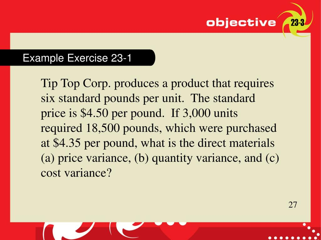 Example Exercise 23-1