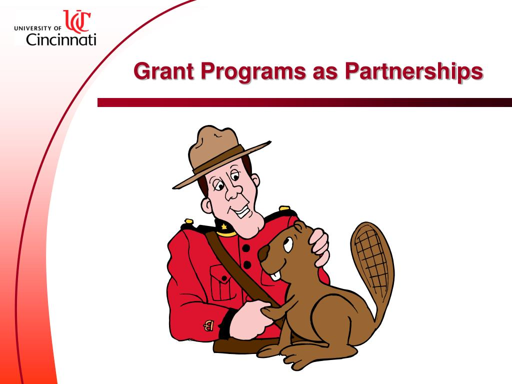 Grant Programs as Partnerships
