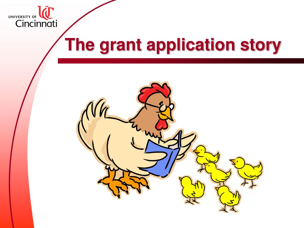 The grant application story