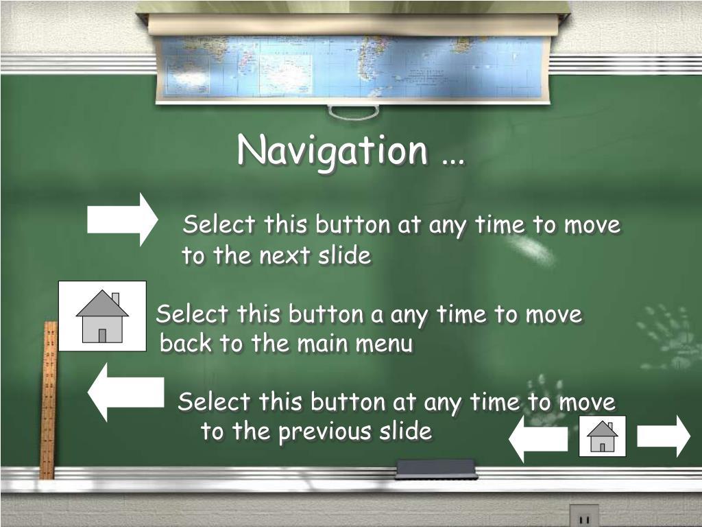 Navigation …