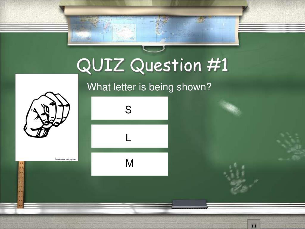 QUIZ Question #1