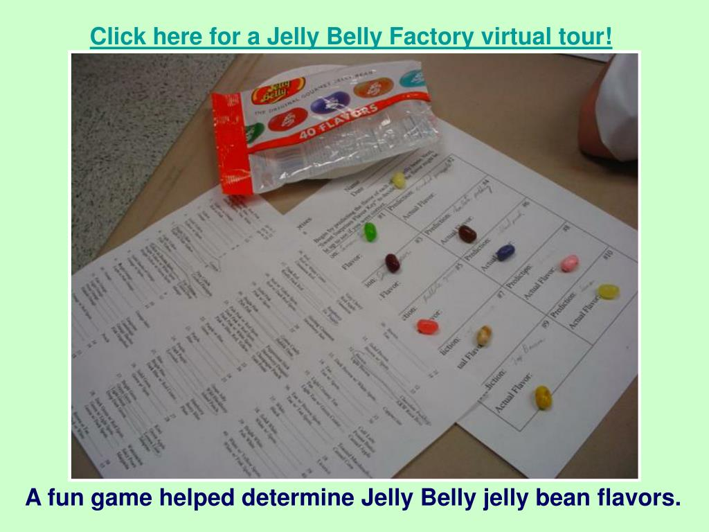 Click here for a Jelly Belly Factory virtual tour!