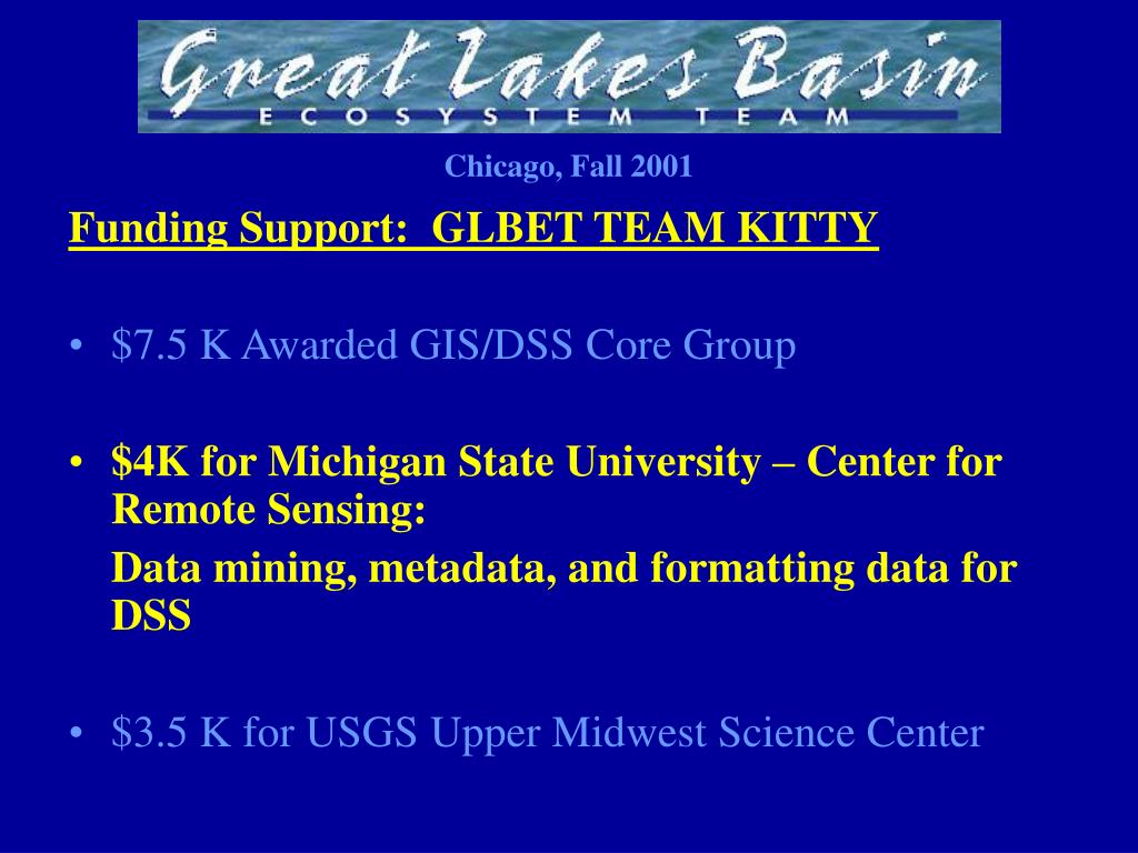 Funding Support:  GLBET TEAM KITTY