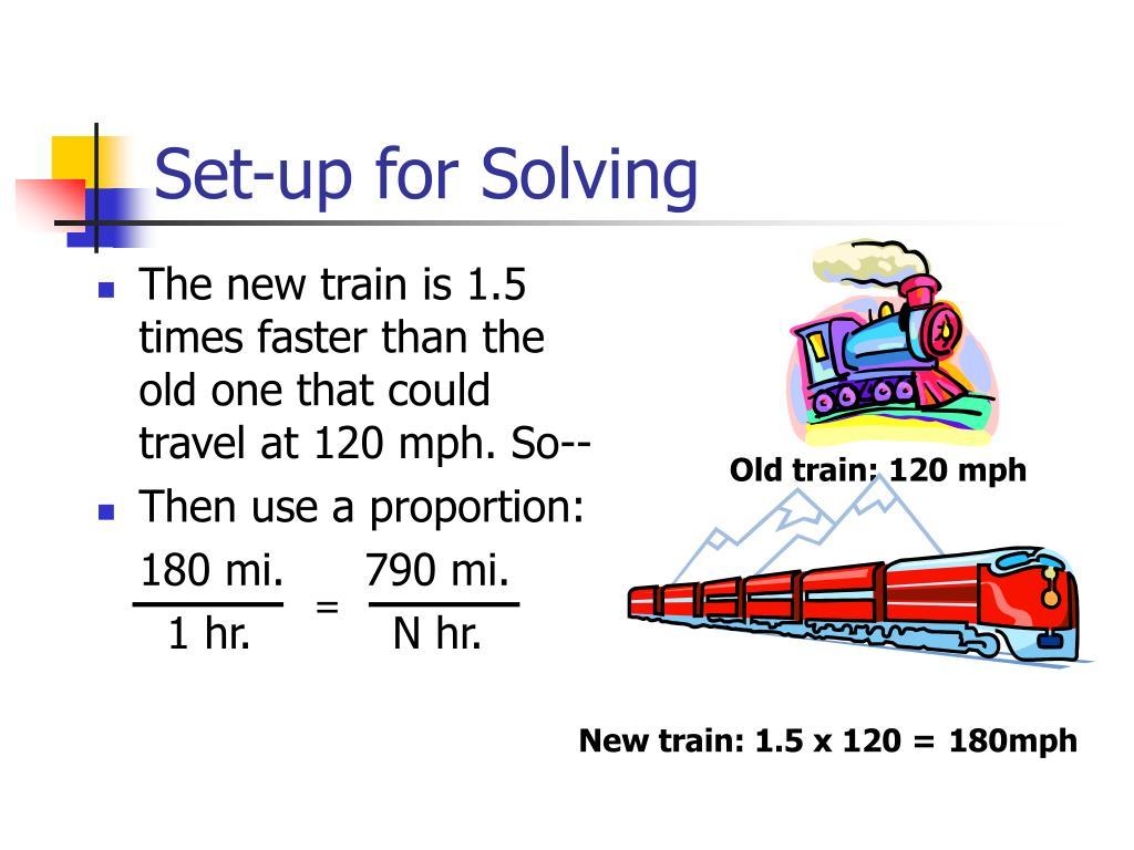 Set-up for Solving