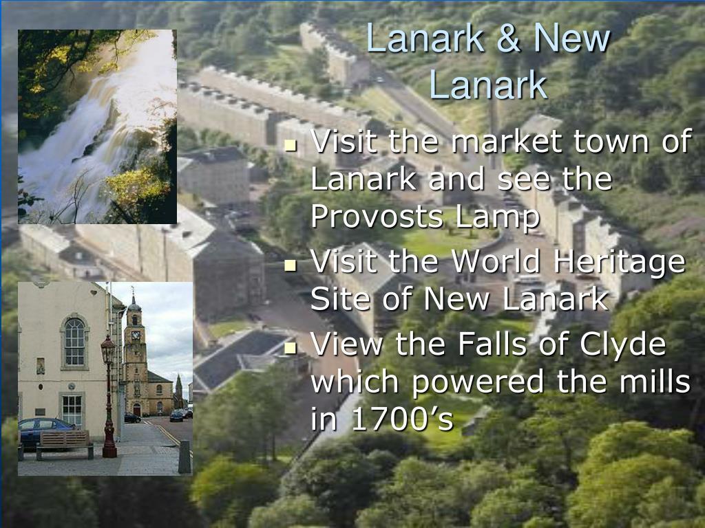 Lanark & New Lanark