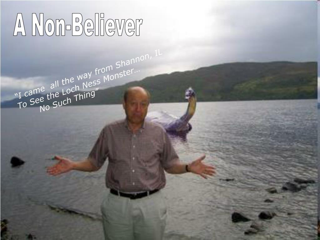 A Non-Believer