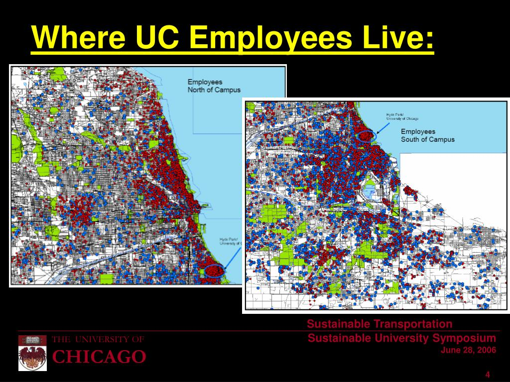 Where UC Employees Live: