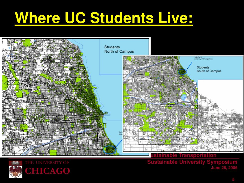 Where UC Students Live: