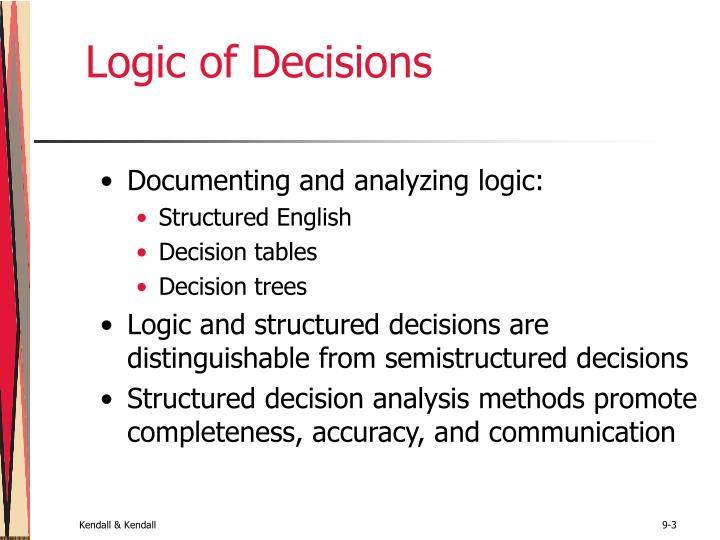 Logic of decisions