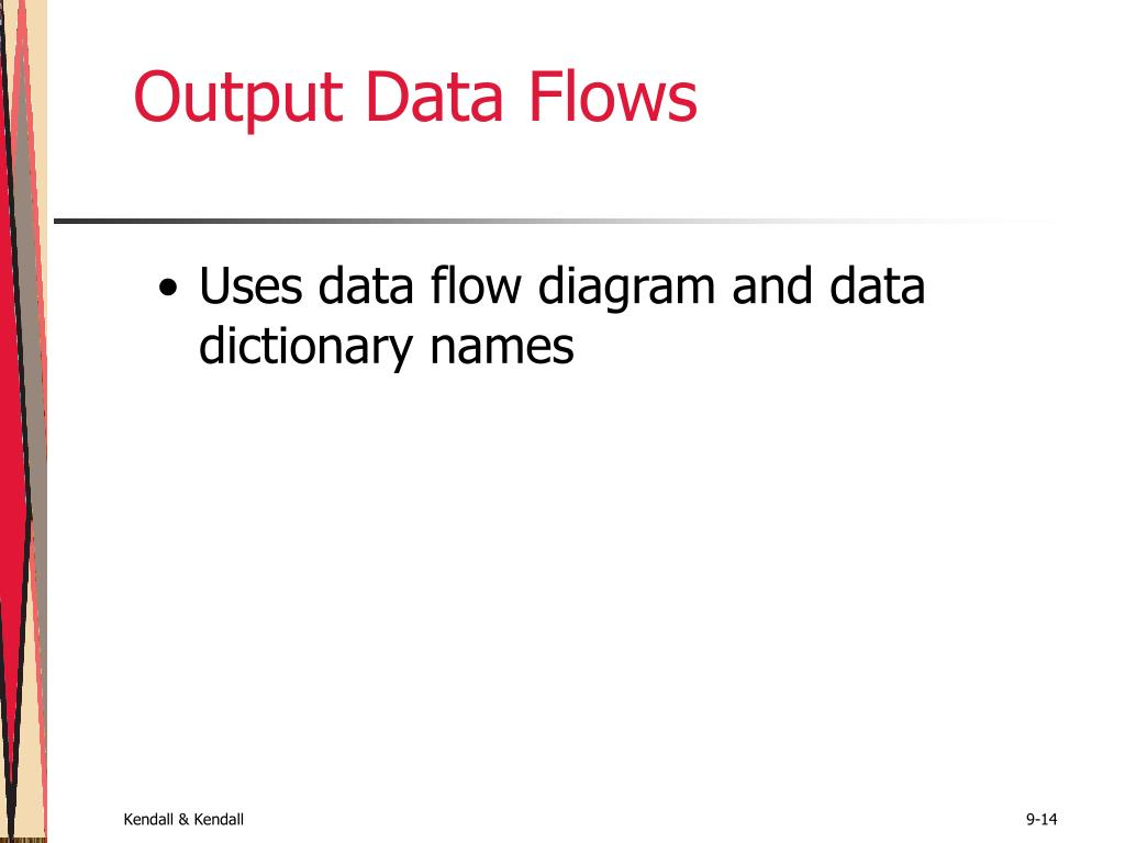 Output Data Flows