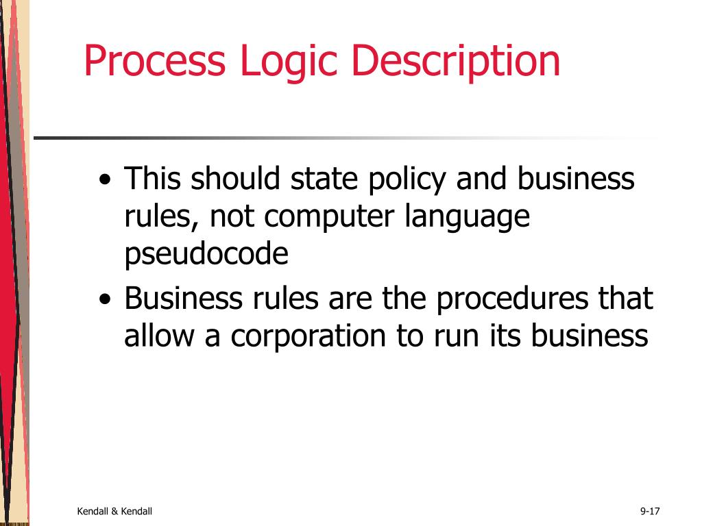 Process Logic Description