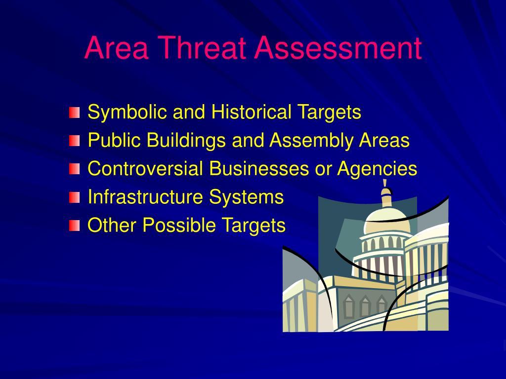 Area Threat Assessment