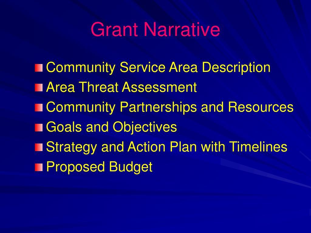 Grant Narrative