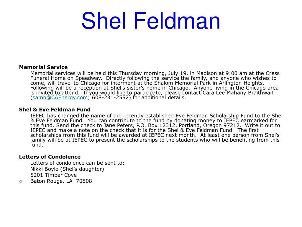 Shel Feldman