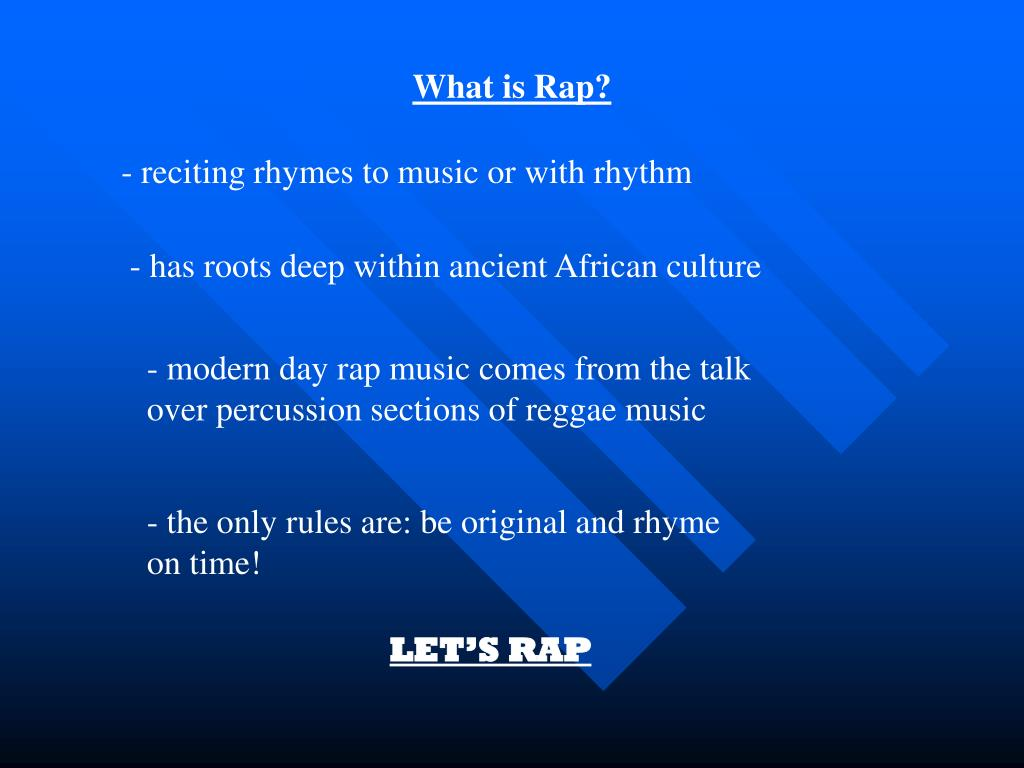 What is Rap?