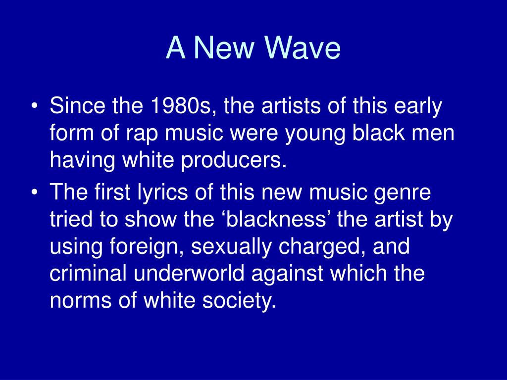 A New Wave
