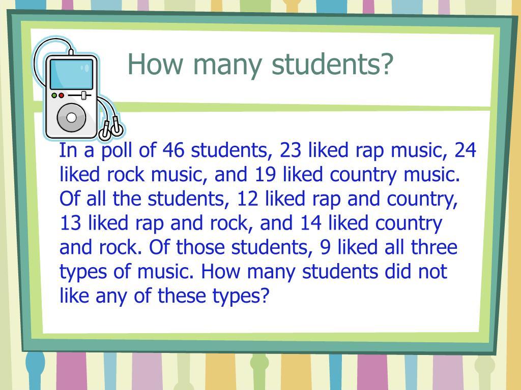 How many students?