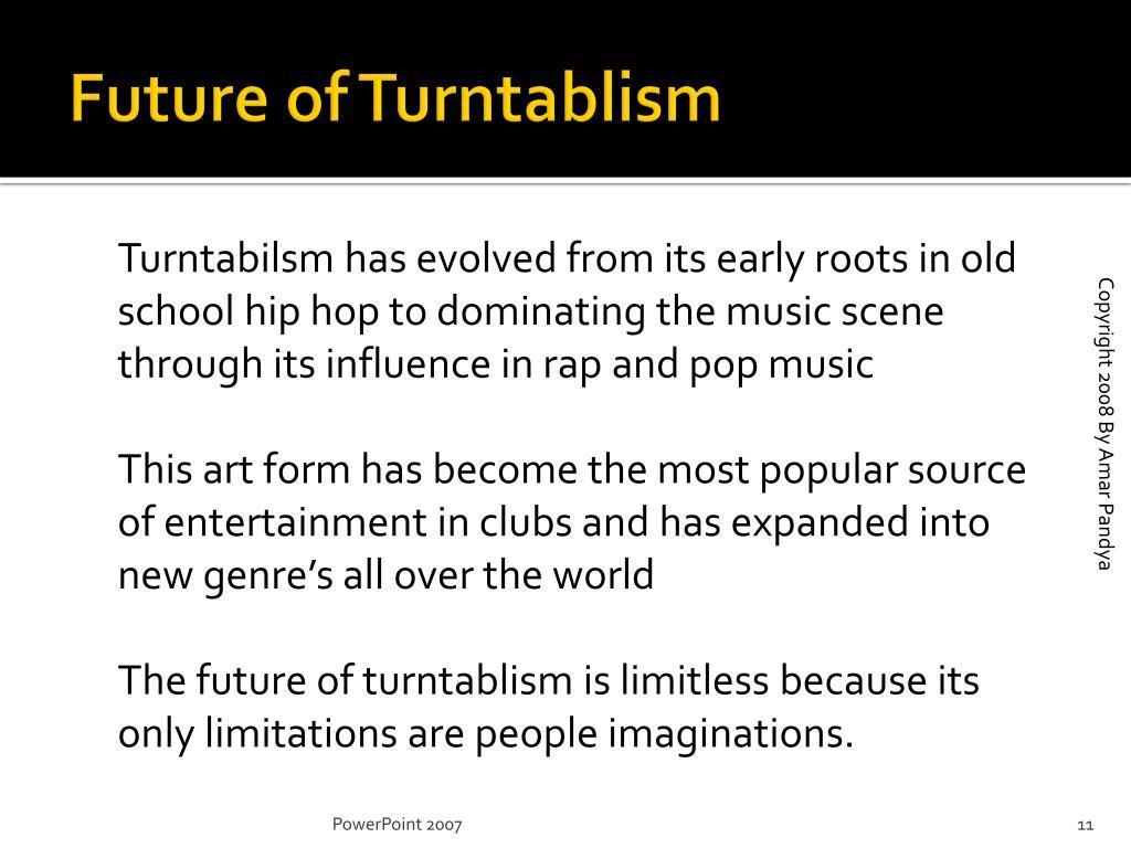 Future of Turntablism