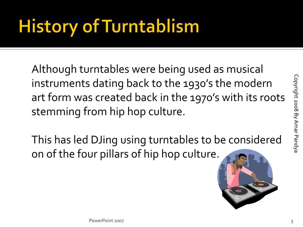 History of Turntablism