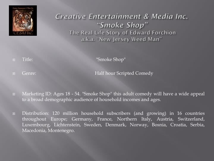 Creative Entertainment & Media Inc.