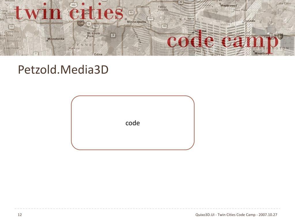 Petzold.Media3D