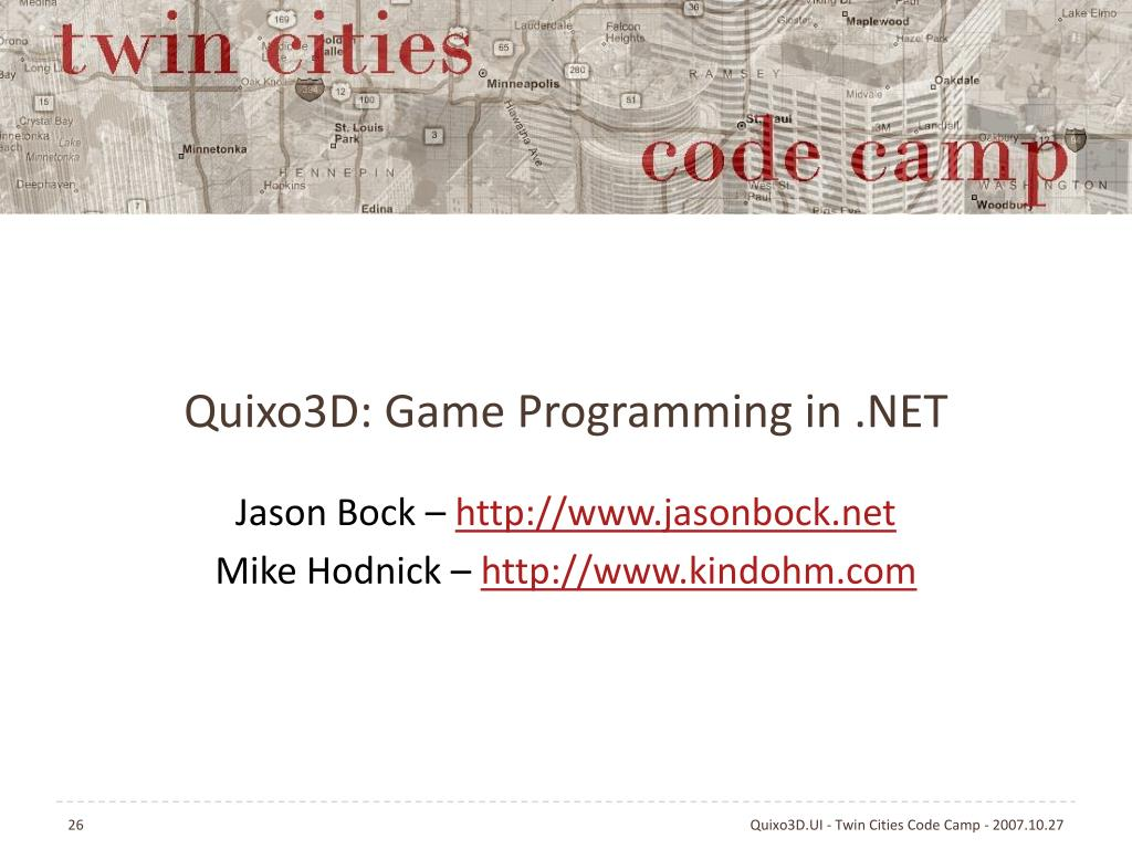 Quixo3D: Game Programming in .NET