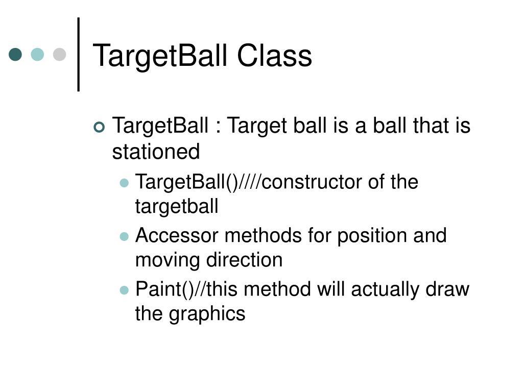 TargetBall