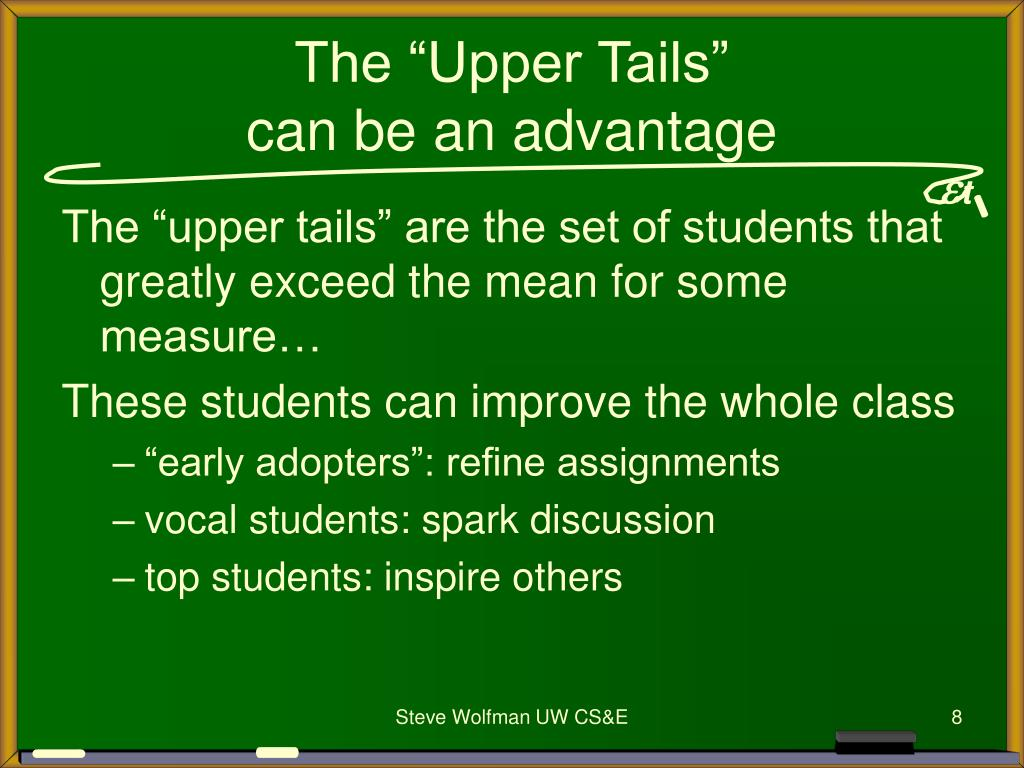 """The """"Upper Tails"""""""