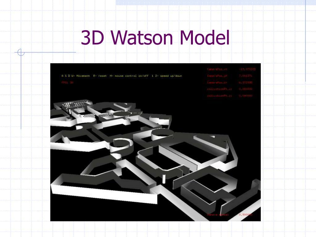 3D Watson Model