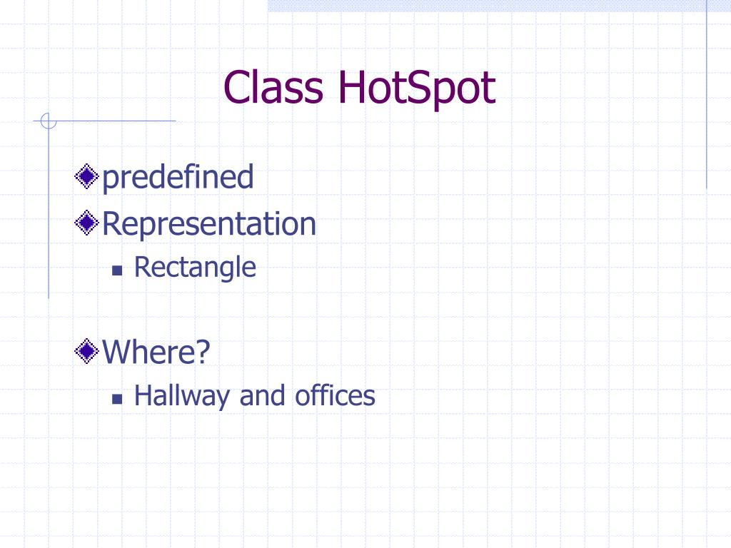 Class HotSpot