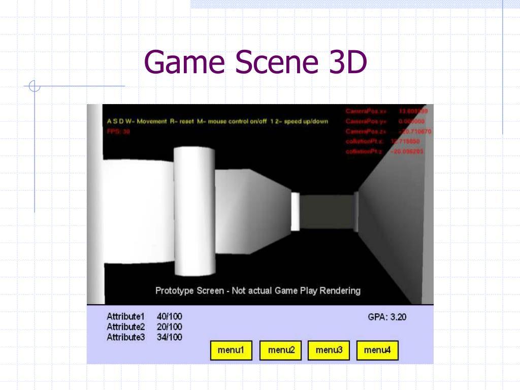 Game Scene 3D