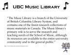 ubc music library