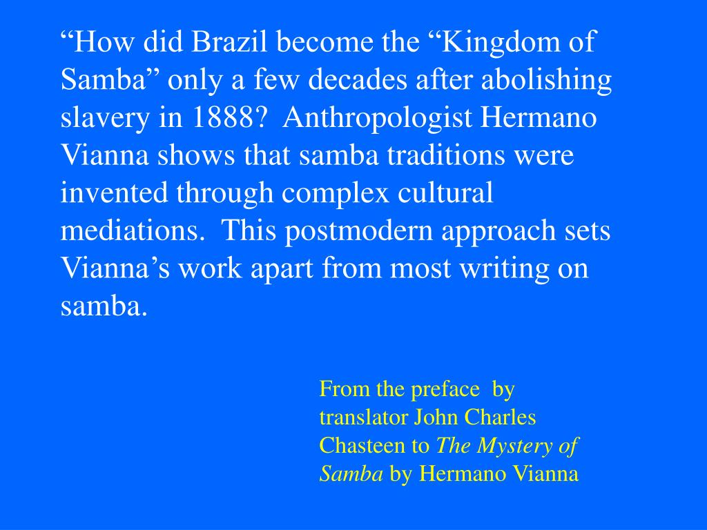 From the preface  by translator John Charles Chasteen to