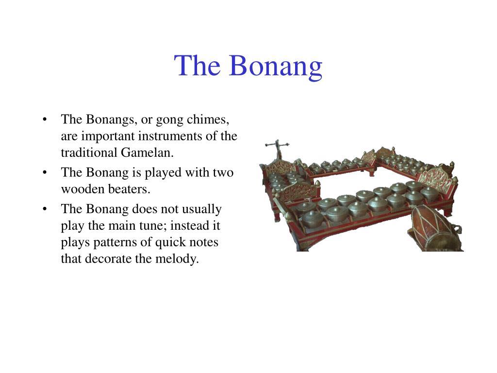 The Bonang