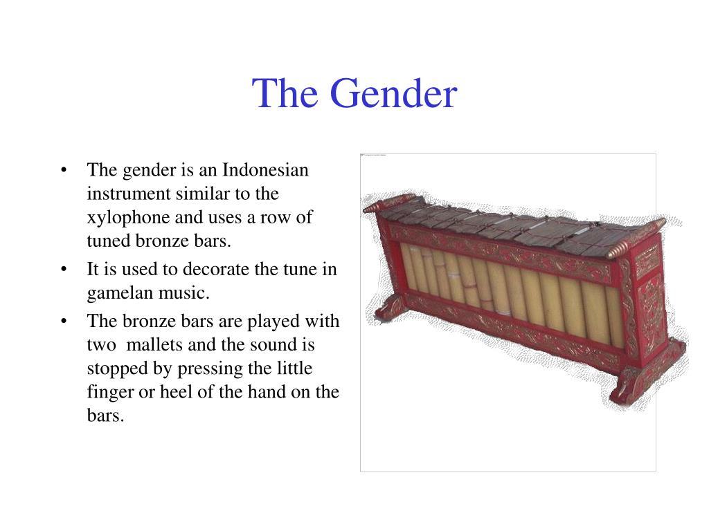 The Gender