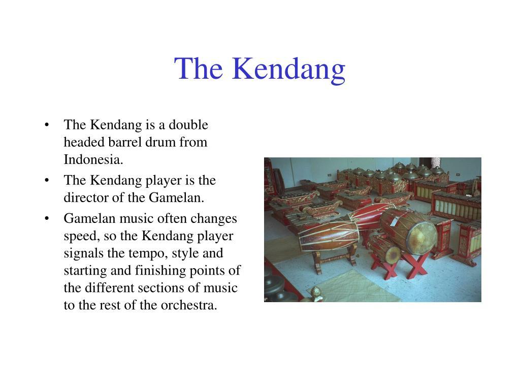 The Kendang