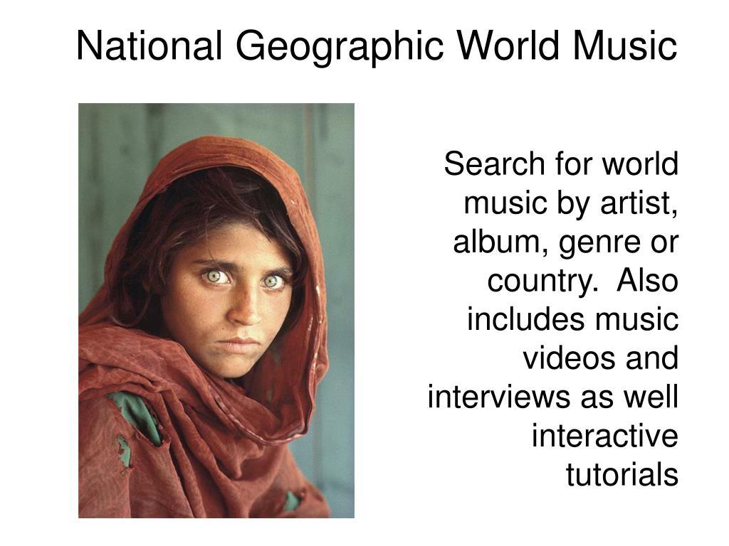 National Geographic World Music