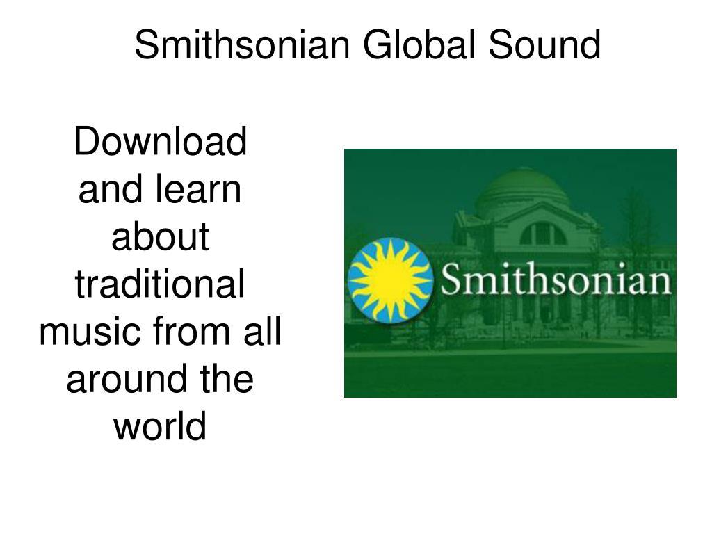 Smithsonian Global Sound