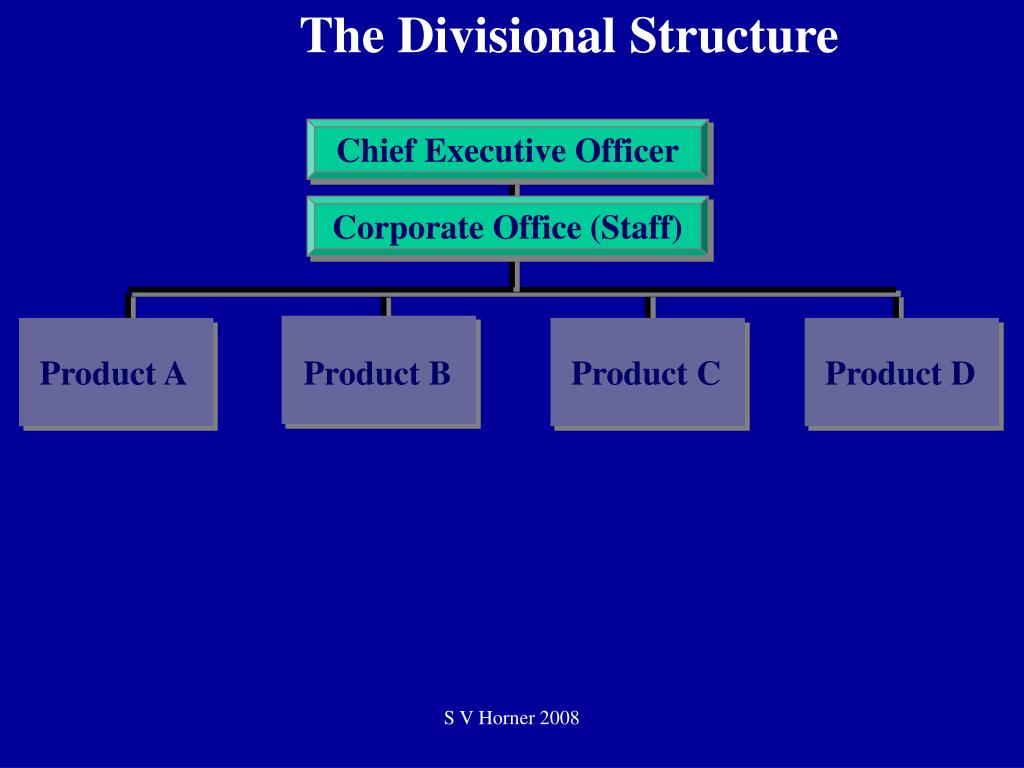 The Divisional Structure