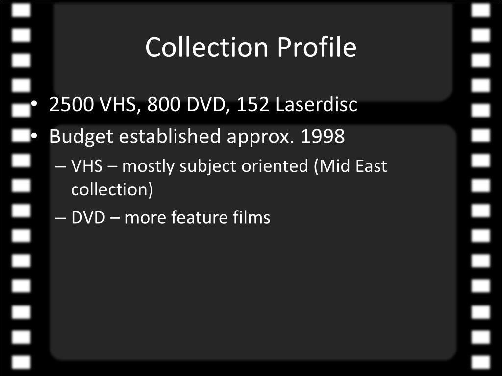 Collection Profile