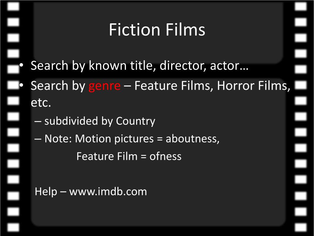 Fiction Films