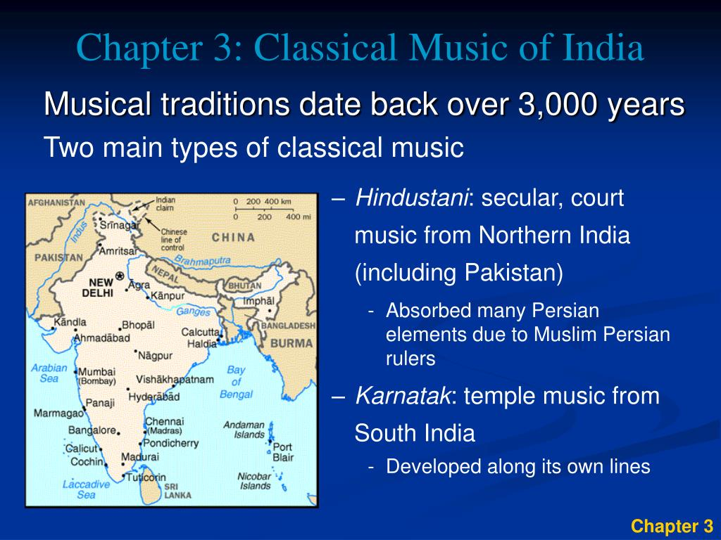Chapter 3: Classical Music of India
