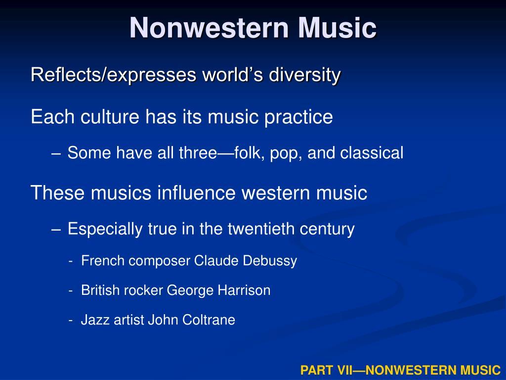 Nonwestern Music