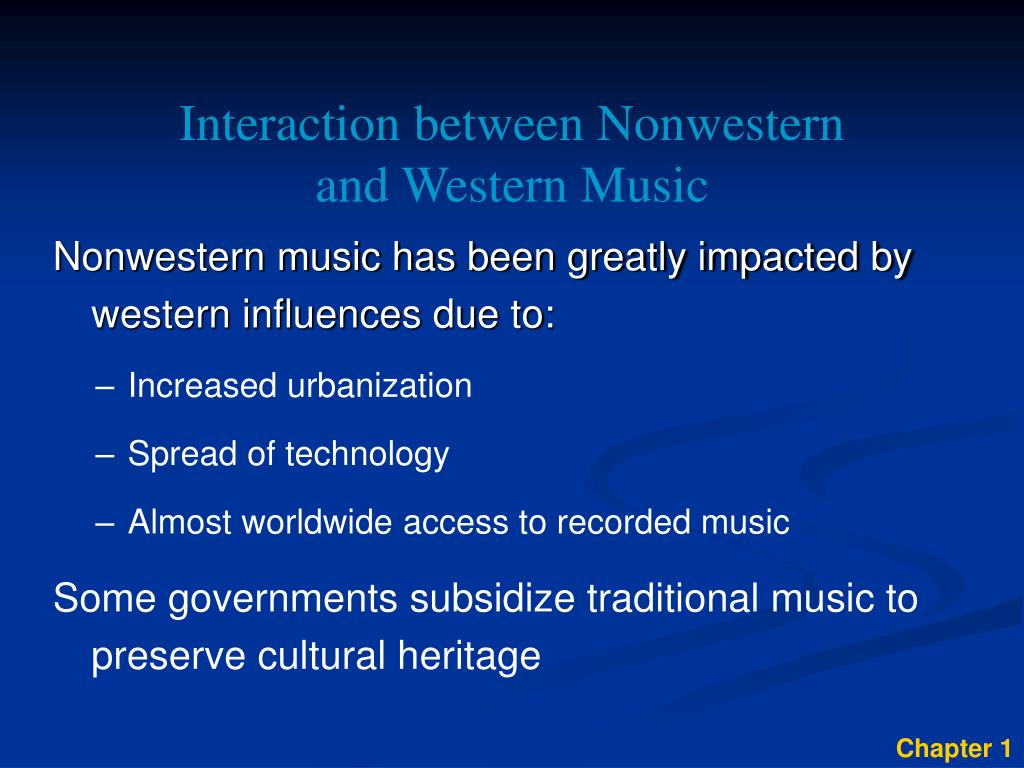Interaction between Nonwestern
