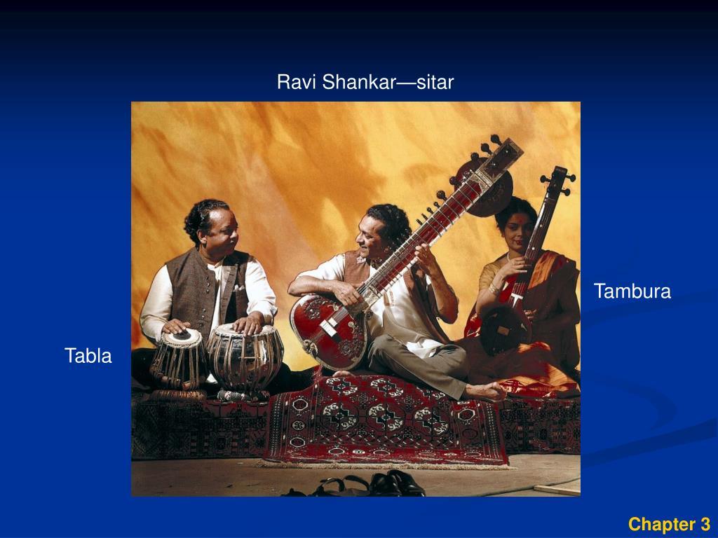 Ravi Shankar—sitar