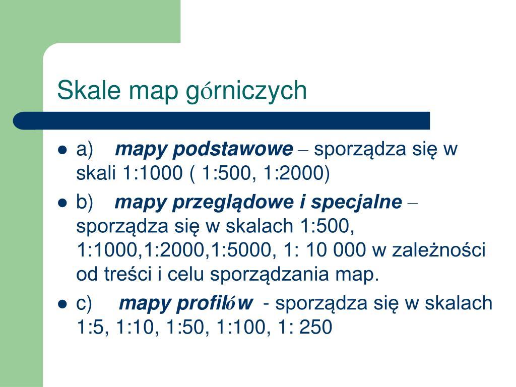Skale map g